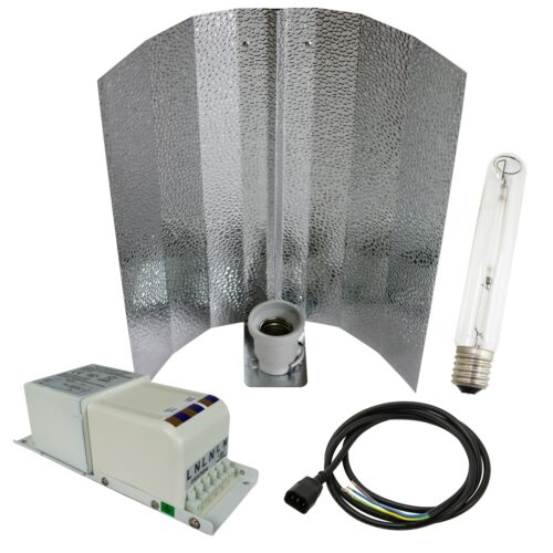 Horti Compact Gear Bausatz Wuchs Blüte Dual HPS MH Natriumdampflampe Grow Anbau