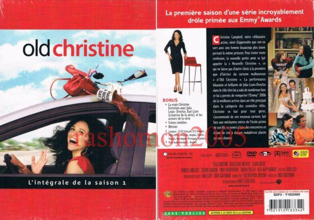 DVD R2 THE NEW ADVENTURES OF OLD CHRISTINE SEASON 1 Julia Louis-Dreyfus Region 2