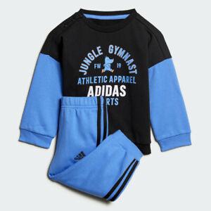 Détails sur Adidas Enfant Garçons Graphique Terry Jogger Survêtement Complet Ensemble ED1169