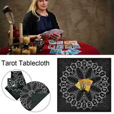 Tarot Pagan Altar Cloth Black Flannel Divination Tablecloth Home Supply Z8B5