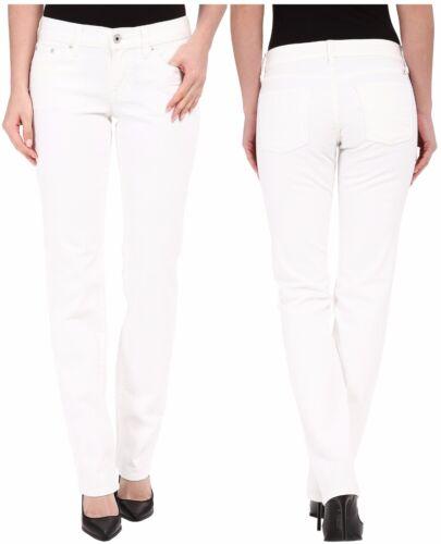 Lucky Brand 7W13074 White Stretch Denim Sweet Straight Jean $99.50