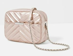 NEW WITH TAGS ZARA QUILTED CITY BAG WITH CHAIN   eBay : zara quilted city bag - Adamdwight.com