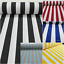 White-Stripe-Fabric-Sofia-Stripes-Curtain-Upholstery-Material-280cm-EXTRA-wide thumbnail 2