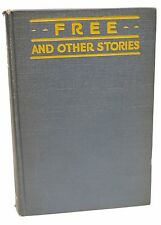 Free and Other Stories First Edition Theodore Dreiser 1918 1st Printing Book