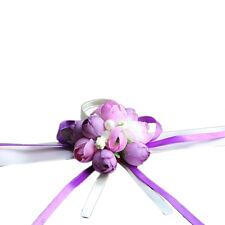 Beautiful Wrist Corsage Bracelet Bridesmaid Sisters Hand Flowers Wedding Party 1