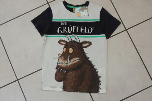 T-Shirt Shirt Junge Kinder Sommer Der Grüffelo Disney 83085 blau Gr 116,128 Neu