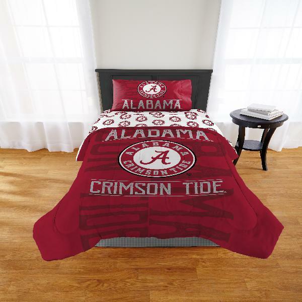 NCAA Alabama Crimson Tide  Affiliation  Comforter Set Multiple Größes