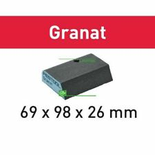 Pkt 6 Festool Abrasive Sponge 69 x 98 x 26 120 Grit