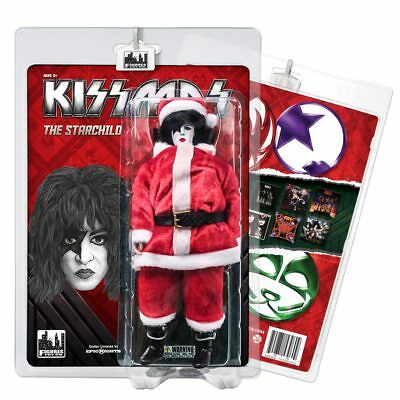 KISS Action Figure 8 /& 12 Inch Packs The Starchild Sonic Boom Edition