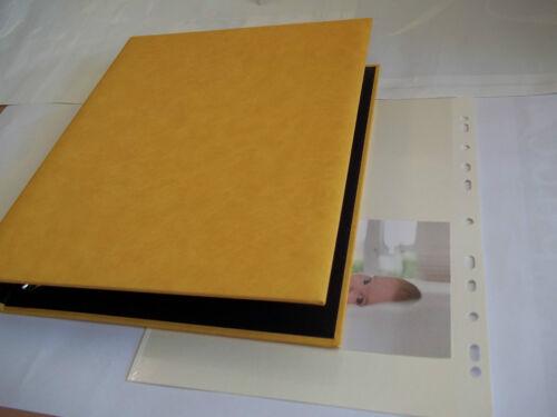Album photos feuillets adhésif 21x29,7 autocollant classeur 10x15 multi formats