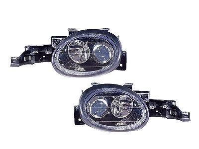 DEPO DODGE Neon 95-99 PROJECTOR BLK HEADLIGHT HEAD LAMP 4761449AB 4761448AB SET
