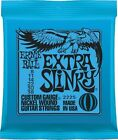 Ernie Ball 2225 Nickel Wound Extra Slinky Electric Guitar Strings 8 - 38 Set