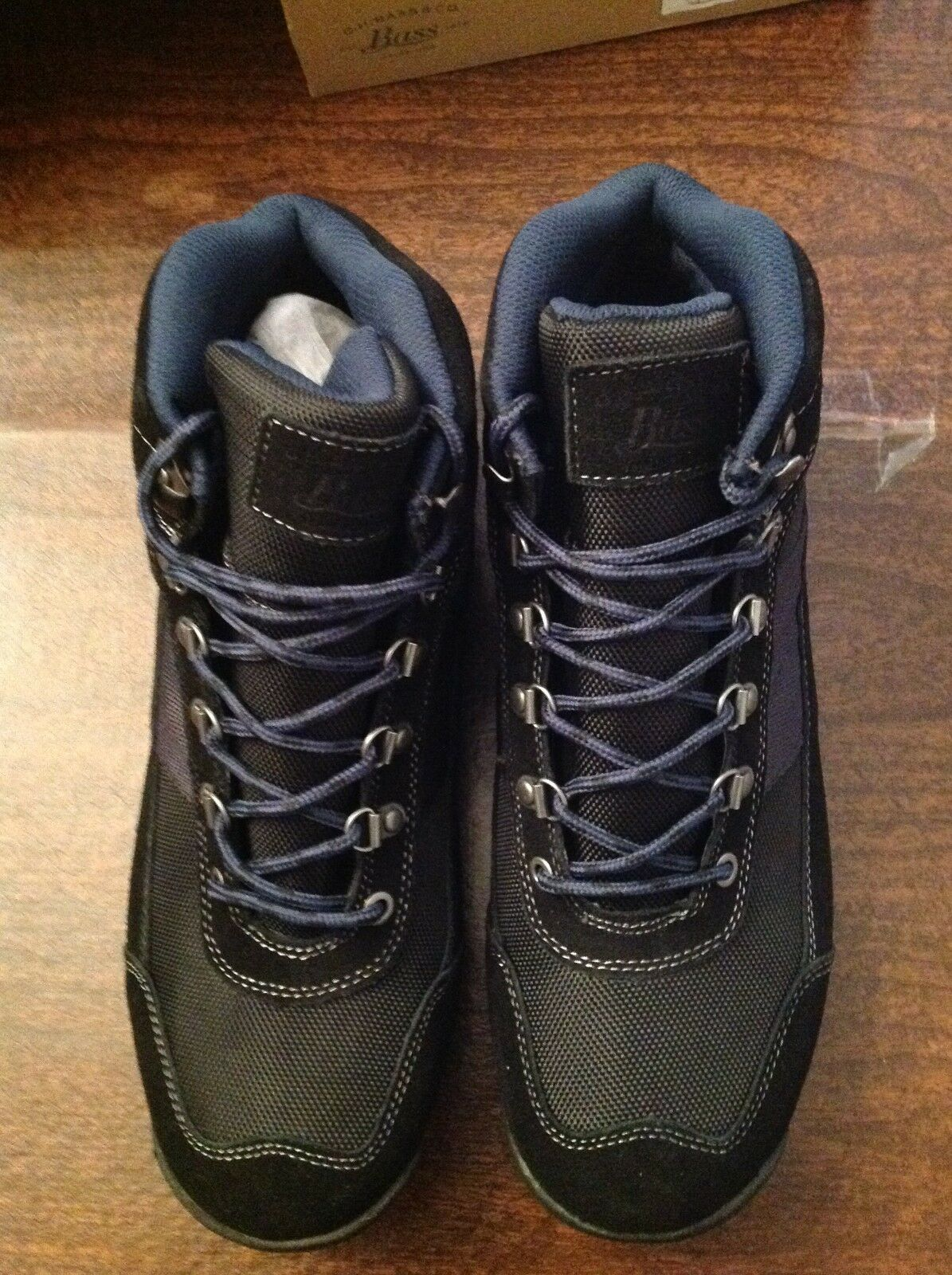 G. H. Bass Men's Black Aspen Hikers Boots  Size: 11.5M   New in Box