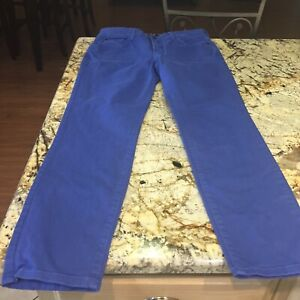NYDJ-Not-Your-Daughters-Jeans-Clarissa-Ankle-Lift-Tuck-Skinny-Stretch-Blue-Sz-6