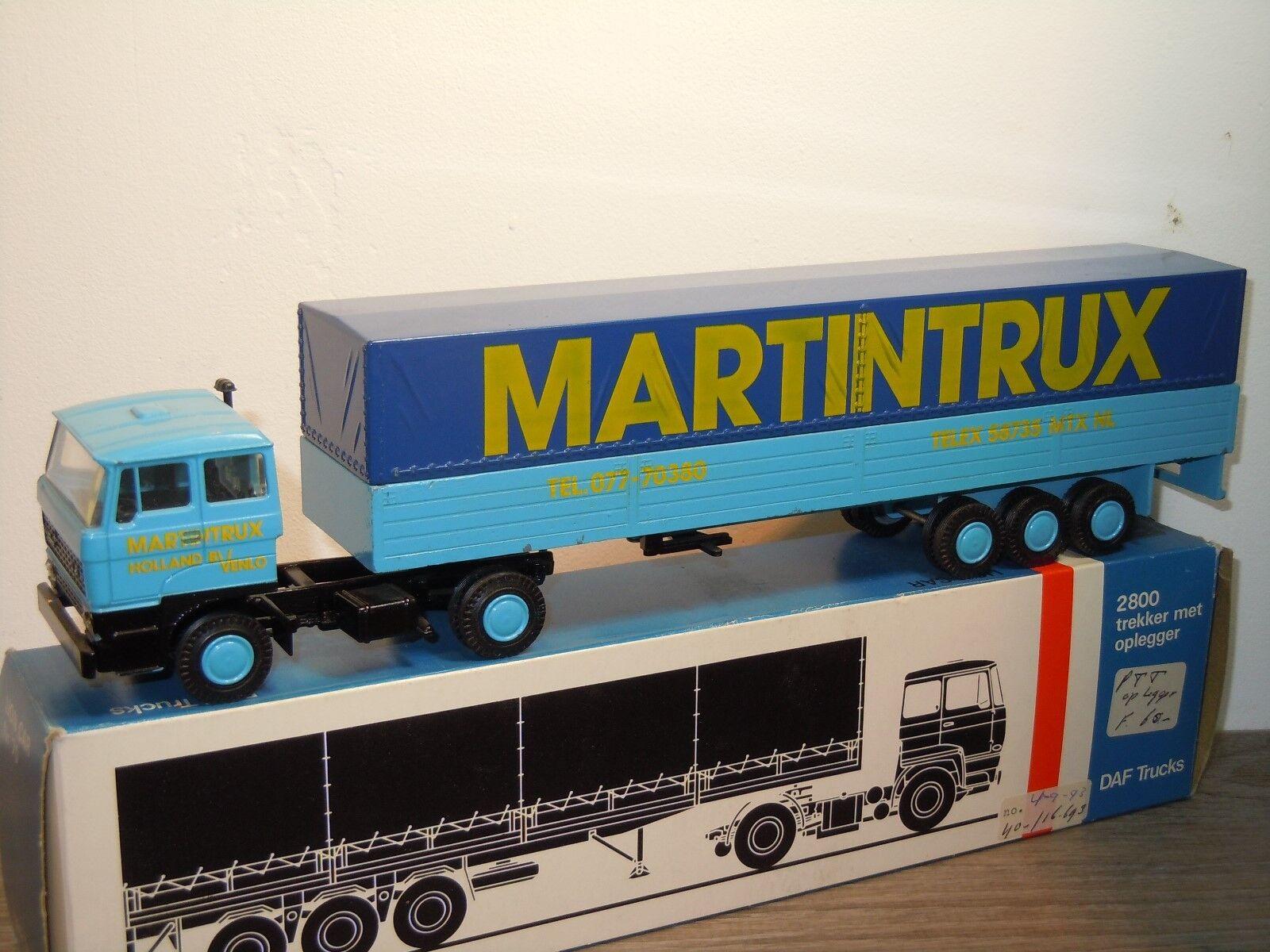Daf 2800 met Oplegger Martintrux - Lion Car Holland 1 50 in Box 34981