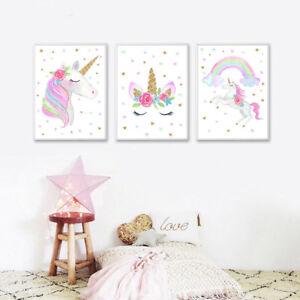 Watercolor-Rainbow-Unicorn-Canvas-Poster-Nursery-Wall-Art-Print-for-Kids-Room