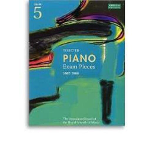 1 of 1 - Selected Piano Exam Pieces Grade 5 2007-2008 ABRSM Sheet Music Book S57