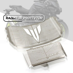 Engine-Radiator-Grill-Grille-Protector-Guard-Set-Cover-fit-YAMAHA-MT10-16-17