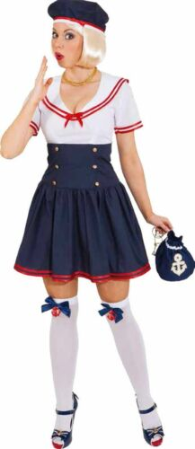 Damen Kostüm Matrosin zu Karneval Fasching Orl