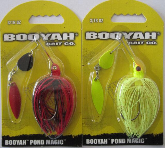 2 3//16 oz BOOYAH BAIT Pond Magic - Red Ant /& June Bug