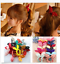 10Pcs-Women-Girl-Rabbit-Ear-Scrunchie-Hair-Band-Rope-Elastic-Tie-Ponytail-Holder thumbnail 1