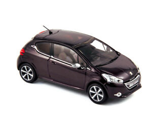 Peugeot-208-XY-2012-Night-Purple-1-43-NOREV