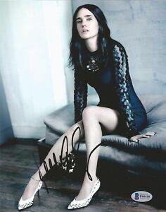 JENNIFER-CONNELLY-Signed-8x10-AUTOGRAPH-SEXY-Actress-BAS-Beckett-COA