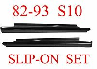 82 93 S10 Slip-on Rocker Panel Set, Chevy, Gmc, S15, Blazer, Jimmy, L&r Pair