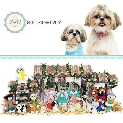 Shih Tzu Gifts - Nativity Sets