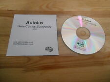 CD Pop Autolux - Here Comes Everybody (1 Song) Promo FULL TIME HOBBY