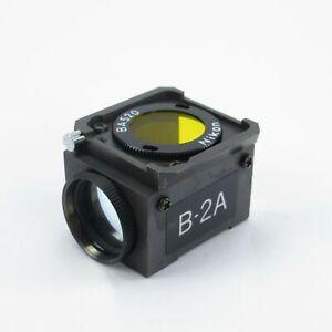 NIKON-B-2A-DM510-FLUORESCENCE-FILTER-REFLECTOR-CUBE