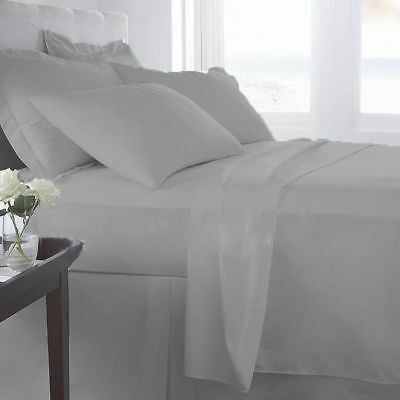 New Bedding Collection 1000TC Egyptian Cotton All Size Solid Colors Select Item