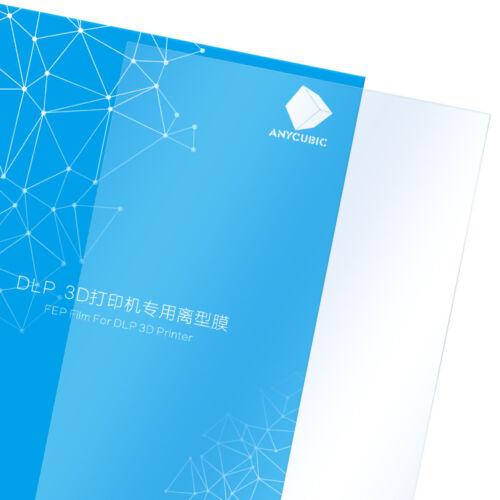 5PCS//Set ANYCUBIC 140x200mm FEP Film Sheet 0.15-0.2mm for LCD Photon 3D printer