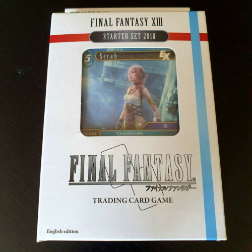 Final Fantasy XIII Starter Set 2018 TCG Trading Card Game