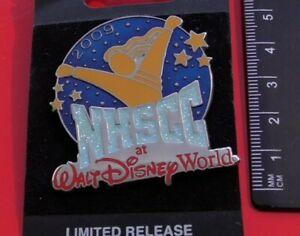 Walt-Disney-World-Enamel-Pin-Badge-NHSCC-National-Cheerleading-Championship-2009