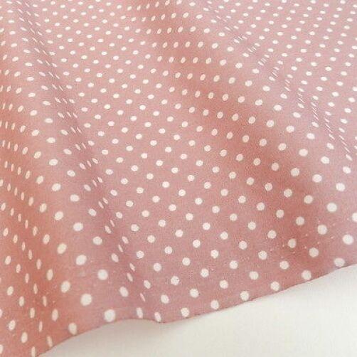 "Dusky pink & ivory  fat quarter bundles & fabrics per 1/2 metres 44 "" wide"