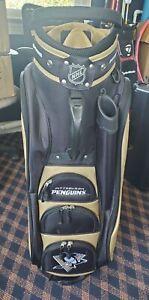 NEW Team Golf NHL Pittsburgh Penguins Victory Cart Bag
