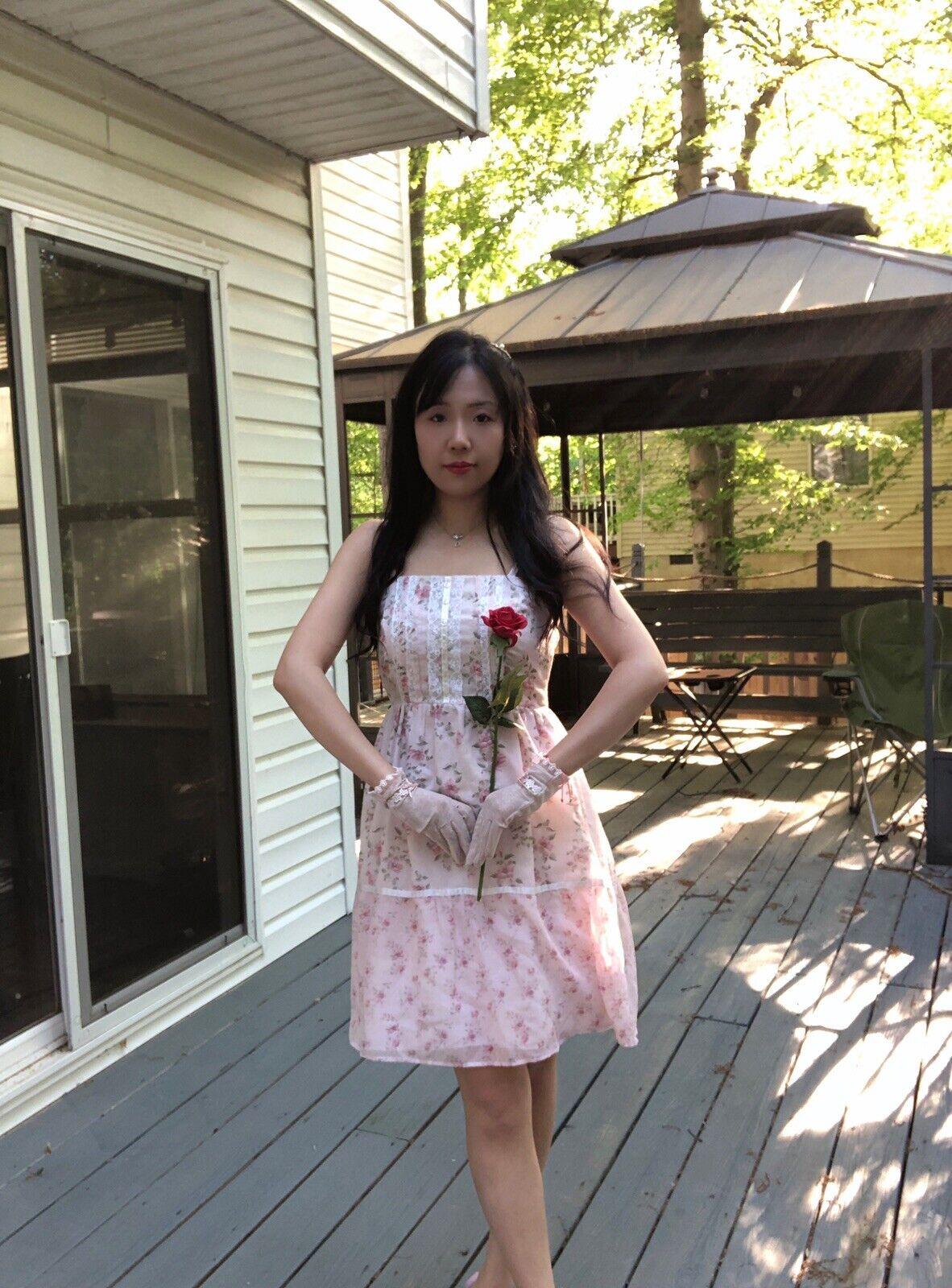 ✨VTG Gunne Sax Pink Style Calico Dress❤️ - image 3