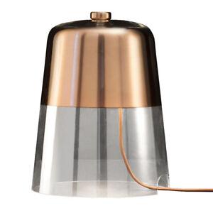 Oluce Lampada Da Tavolo Semplice In Vetro E Rame Satinato Design By Sam Hecht Ebay