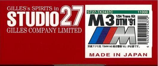 buen precio Studio 27 1/24 Kit de de de Trans BMW M3 DTM2018  Tienda de moda y compras online.