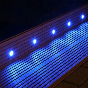 Set 10 Led Bodenlampen Boden Einbaustrahler Fur Innen Aussen Terrasse