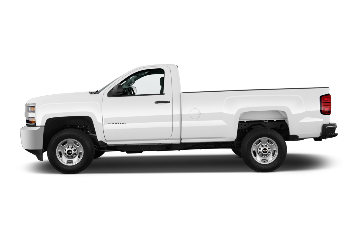 Chevrolet Silverado 2500 side view