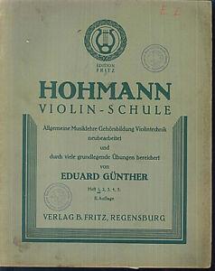 HOHMANN-Violinschule-Heft-1-II-Auflage