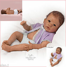 Ashton Drake Little Mia  Poseable doll fully crafted with RealTouch vinyl skin