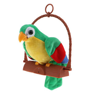 Talking-Parrot-Imitates-amp-Repeats-What-You-Say-Fun-Toy-For-Kids-B