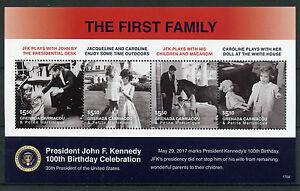 Grenadines Grenada 2017 MNH JFK John F Kennedy 100th Birthday 4v M/S II Stamps