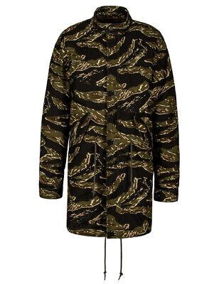 $250 Alpha Industries DEFENDER FISHTAIL PARKA AND LINER Men Jacket Tiger Camo