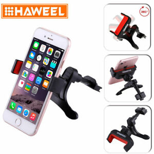 HAWEEL Universal 360 ° Rotating Air Vent Car Mount Holder For Cell Phone GPS