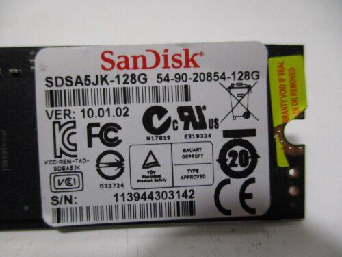 """SANDISK SDSA5JK-128G SSD 128GB SOLID STATE DRIVE FOR ASUS ZENBOOK 13.3/"""" UX31E"""