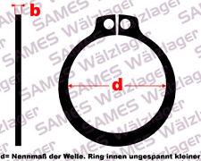 Sprengring 11663-00S DIN 471 - Seegerring Sicherungsring 45x1,75-FSt